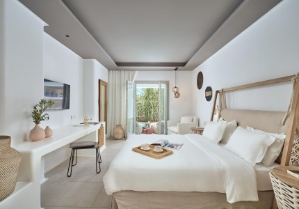 The awarded Adorno Beach Hotel & Suites is brand goals