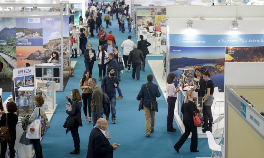 Participating at the Athens International Tourism Expo 2019